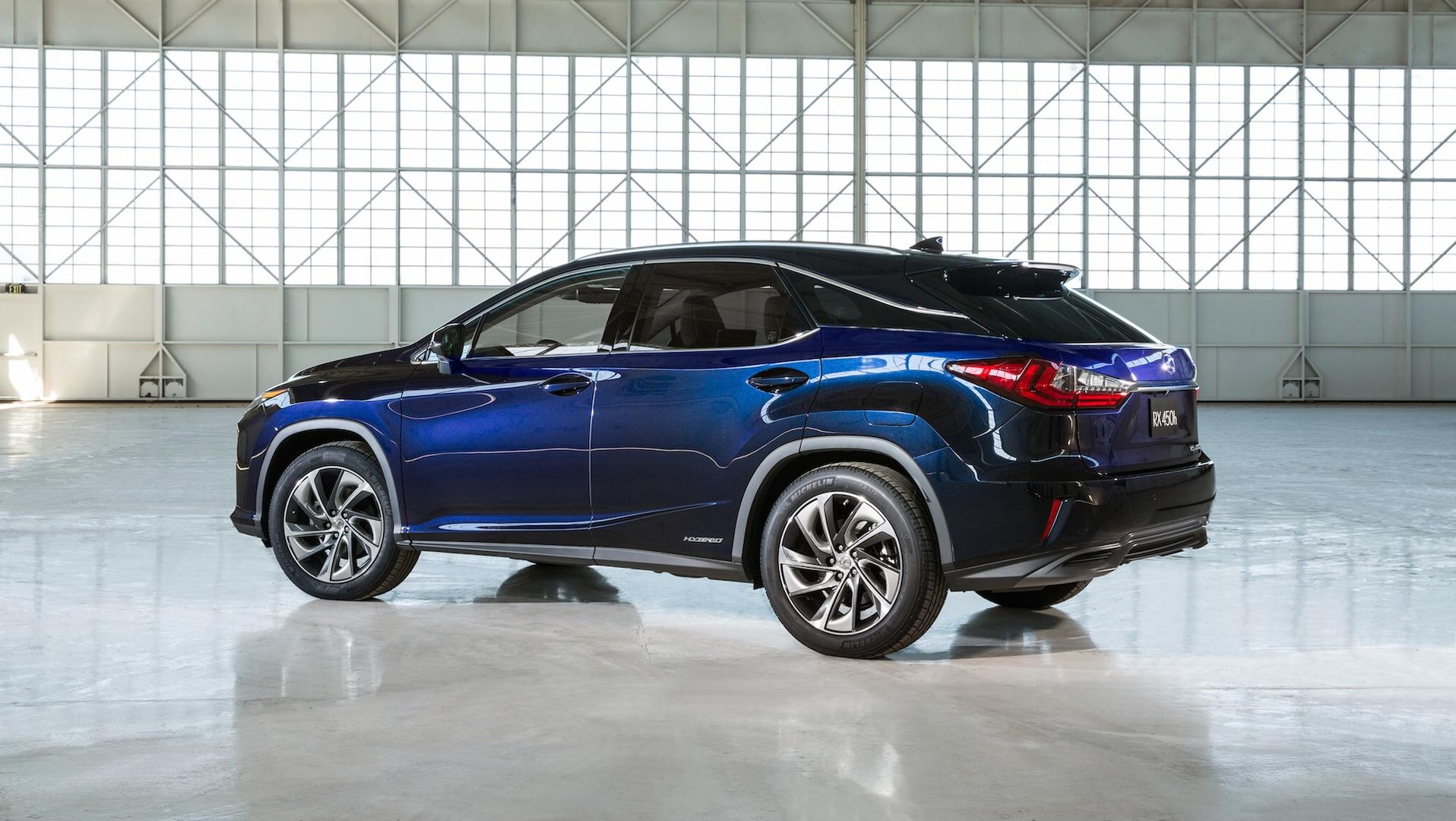 2018 Lexus RX 450h ing With Massive $7 340 Price Cut