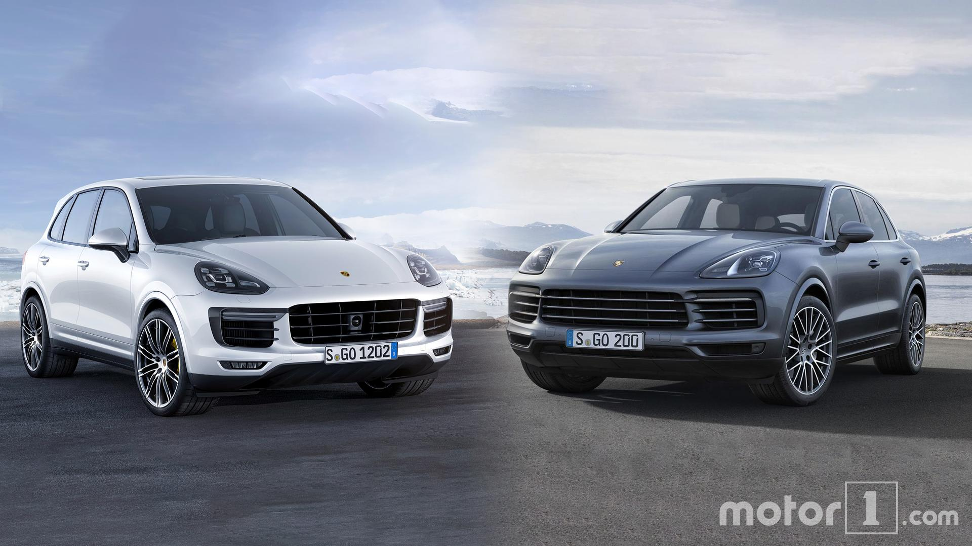 2019 Porsche Cayenne See The Changes Side By Side