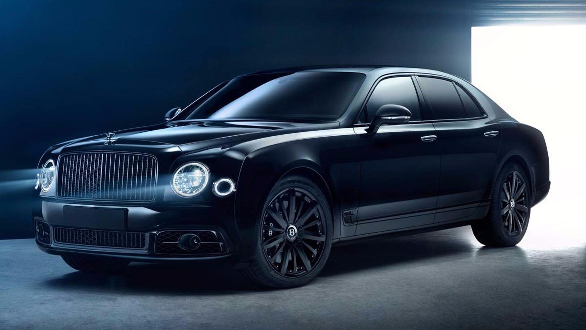 Weird Hd Wallpaper Cars Murdered Out Bentley Mulsanne Bamford X Is Deeply Menacing