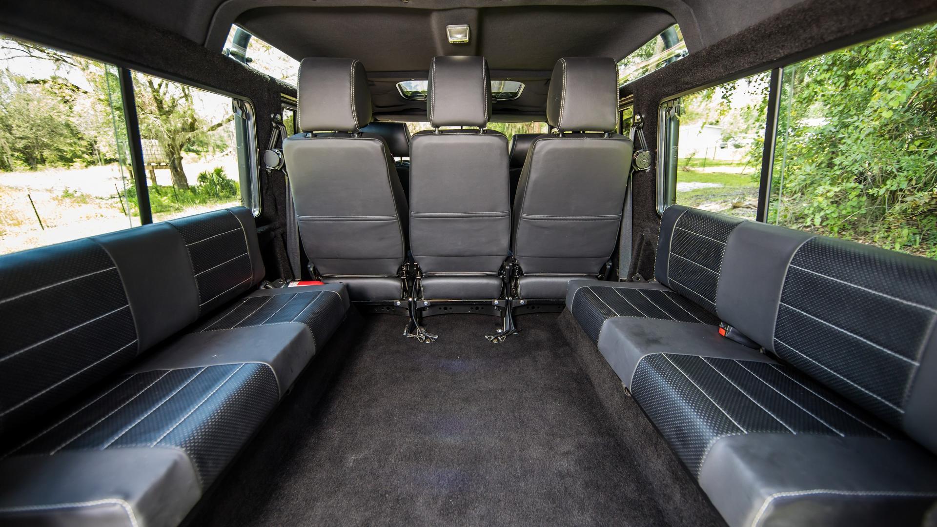 Land Rover Defender Project Kingsman Gets 320 HP Chevy V8 Engine