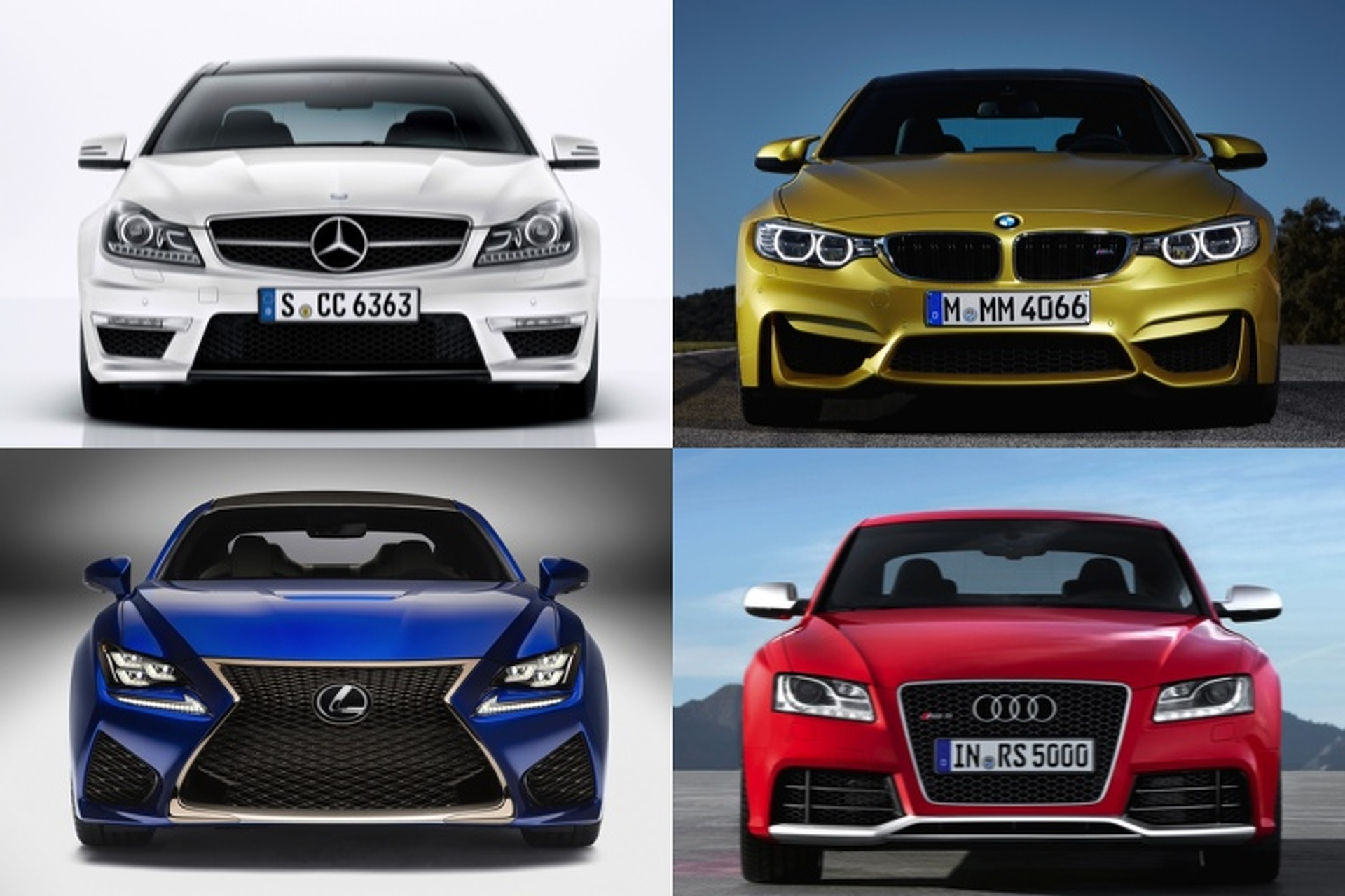 Lexus RC F vs Germany Which Coupe Would You Choose [Poll]