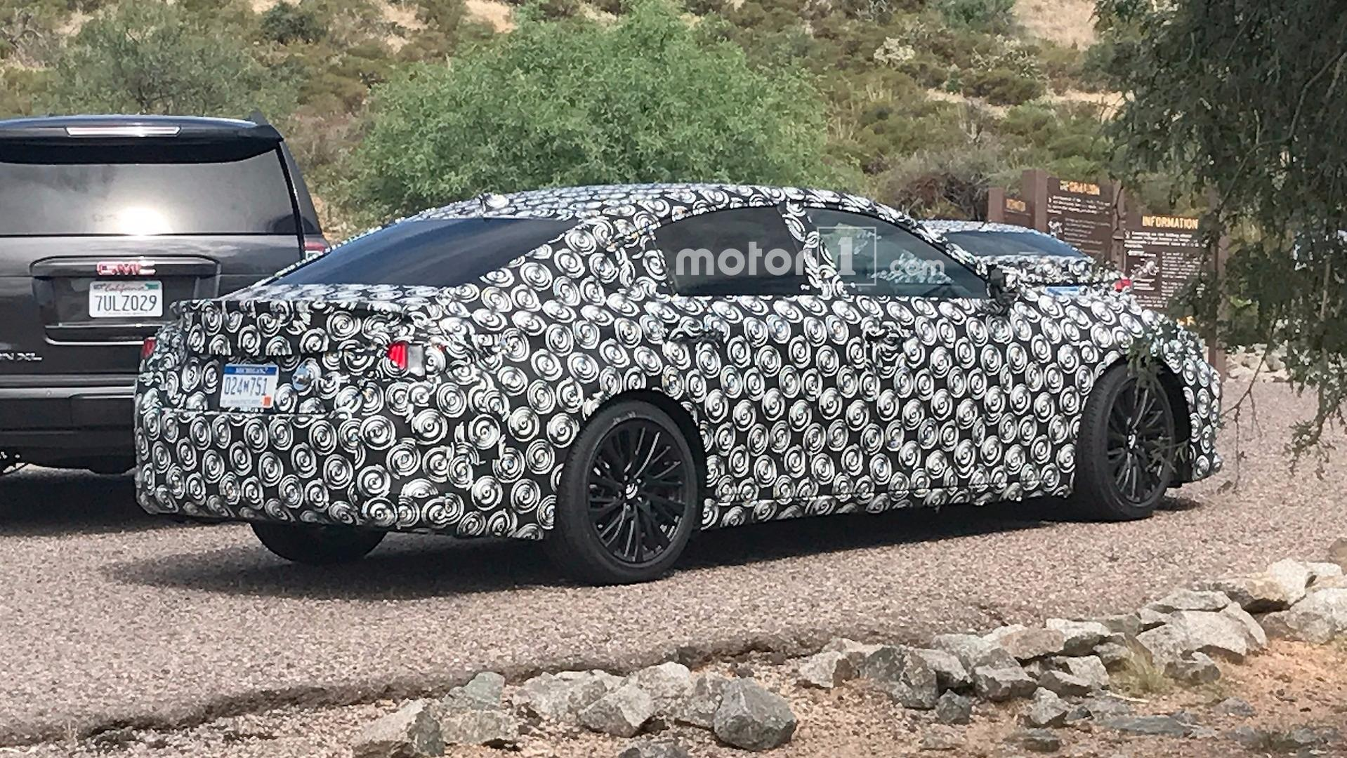 2019 Lexus ES Spied In The Desert With Mercedes Audi Rivals