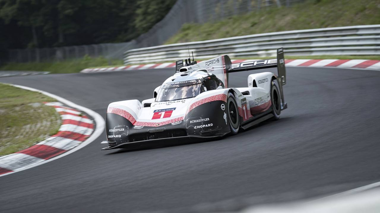 Watch The Porsche 919 Set Nürburgring Record From Driver's