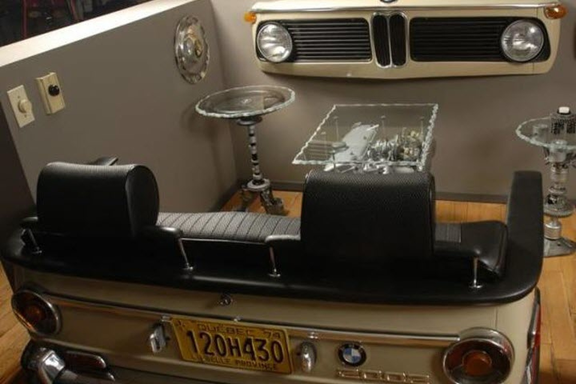 10 Awesome DIYish Automotive Furniture Projects