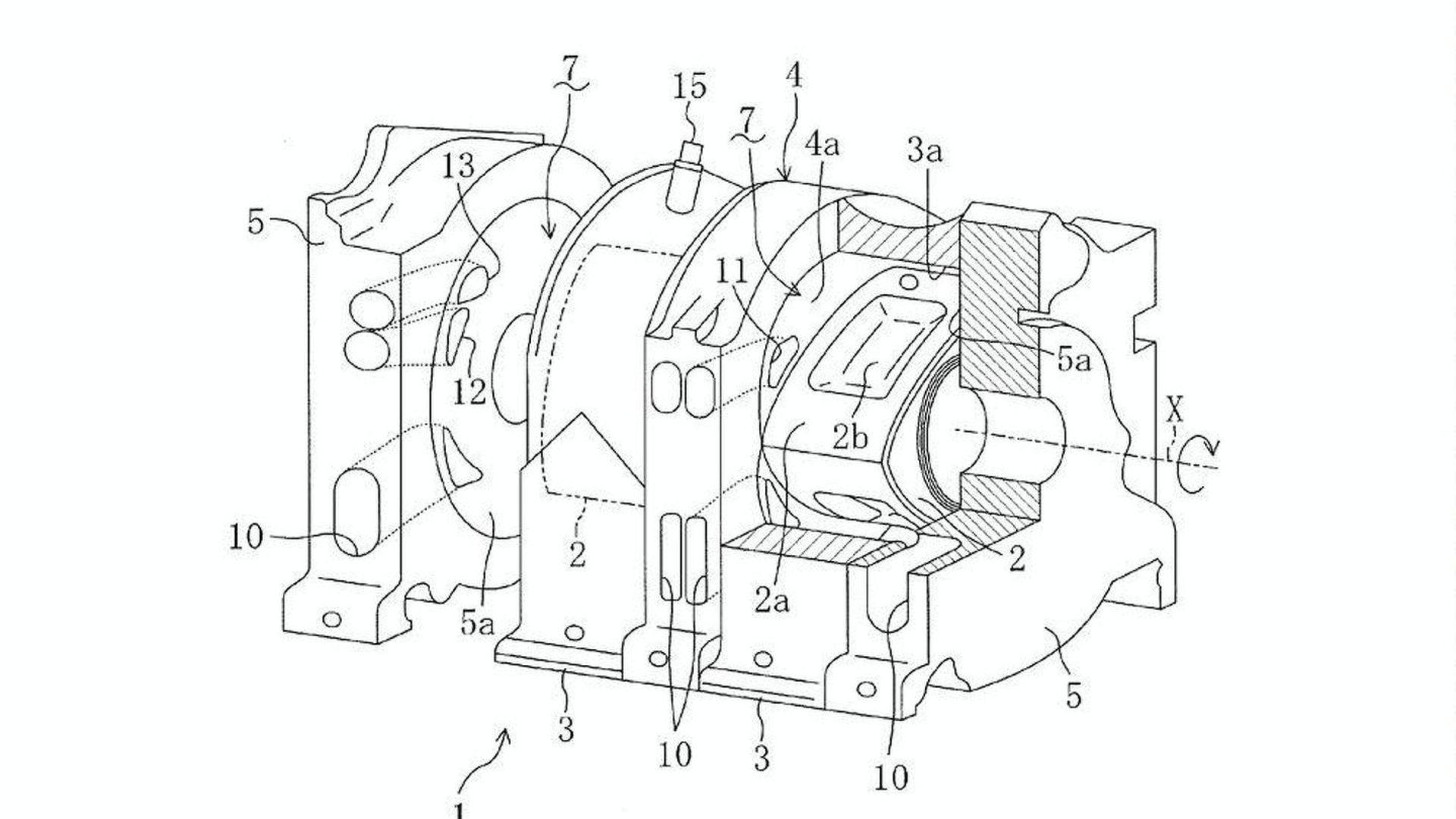 rotary motor diagram