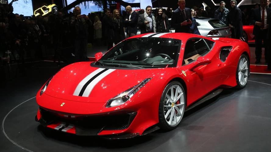 Ferrari 488 Pista Looks Track Ready At The Geneva Motor Show