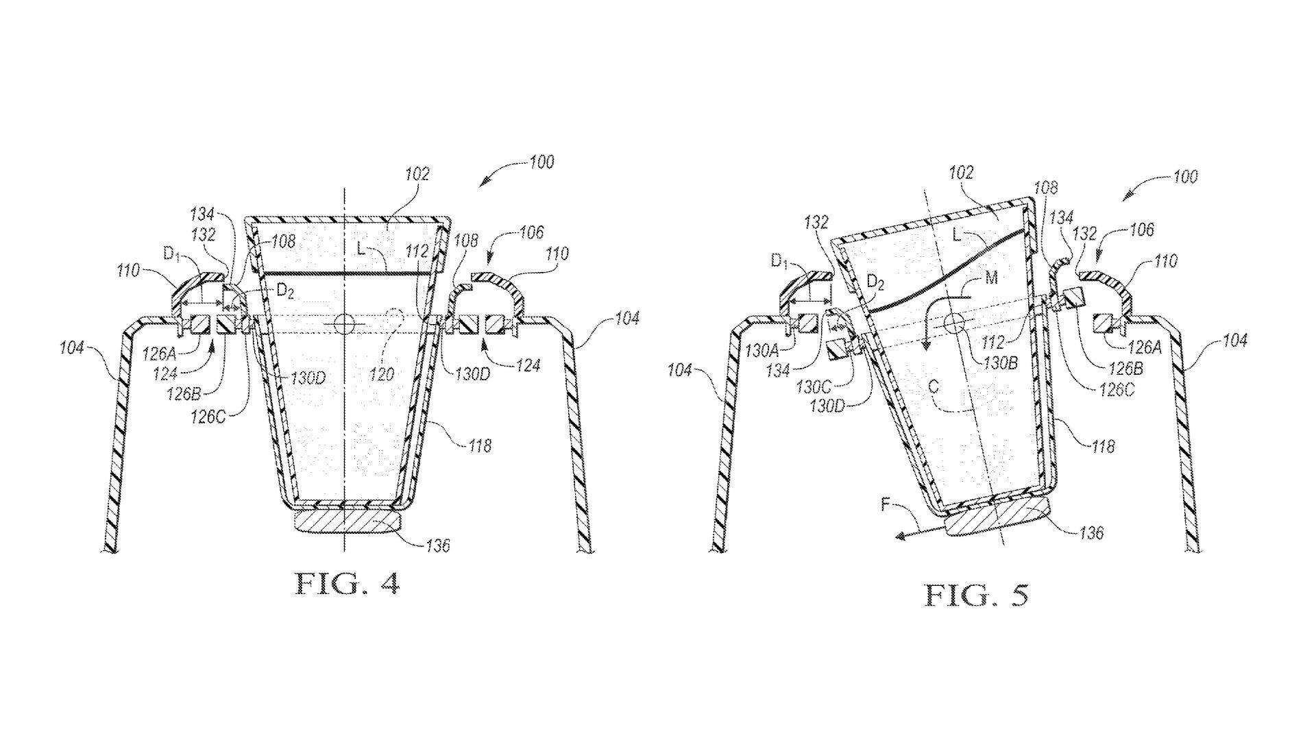 Ford Patents Self Leveling Cup Holder For Those Spirited