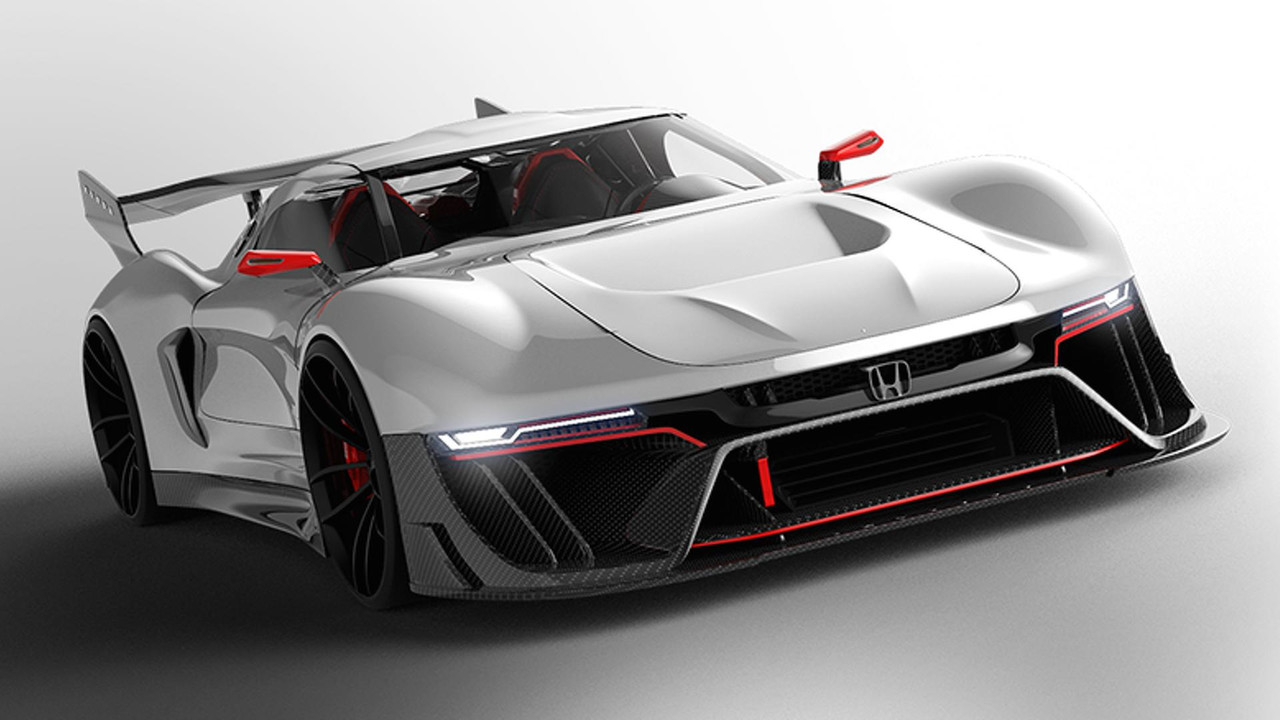 hight resolution of honda s2000 concept designer envisions a track only honda hypercar for 2020