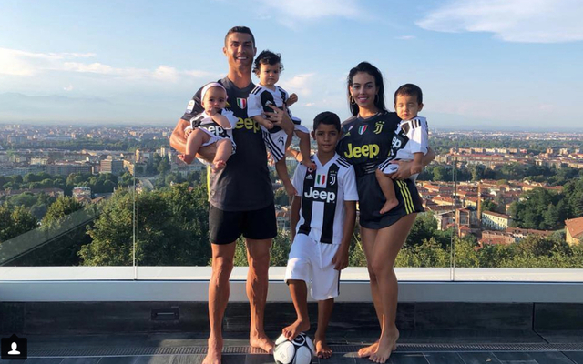 Ronaldo Jr scores 4 on Juve debutwhilst dad searches for goal