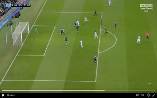 Video: De Bruyne's brilliant finish for Man City vs West Ham