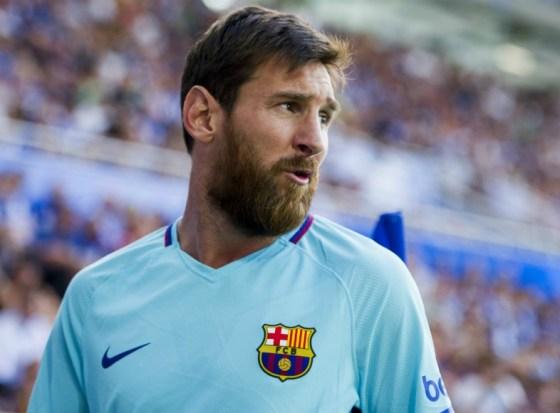 barcelona messi blue barca shirt