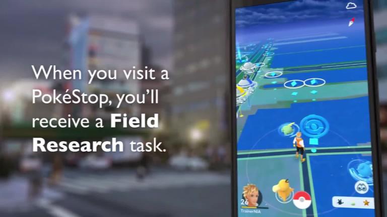 Pokémon GO: Quests in Focus - Explicación de campo e investigación especial