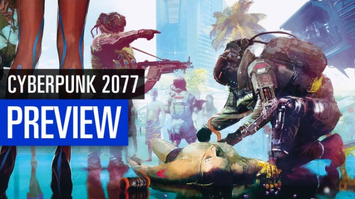 Cyberpunk 2077: Our impressions of the E3 2018 in the video