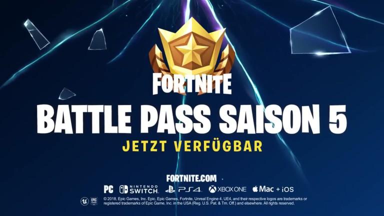 Fortnite: Trailer para el nuevo Battle Pass para la temporada 5