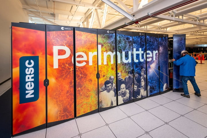 The Perlmutter supercomputer at the National Energy Research Scientific Computing Center (NERSC) at Lawrence Berkeley National Laboratory