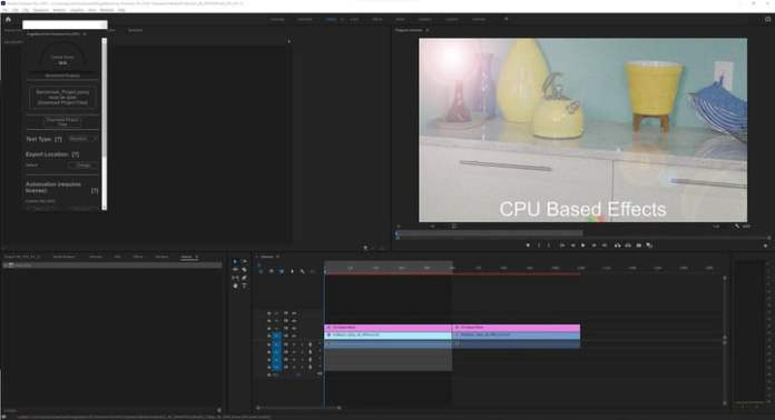 Pugetbench for Premiere Pro Benchmark.