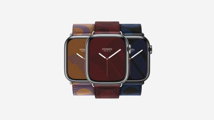 Herms version of the Apple Watch Series 7.