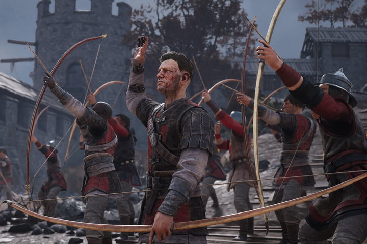 A group of Archers in Chivalry 2.