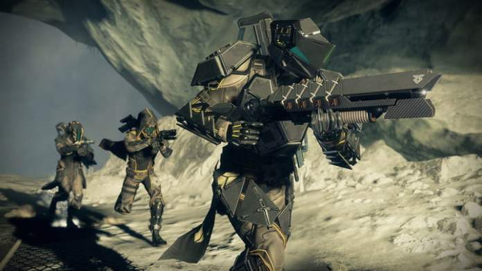 Soldiers in Destiny 2.