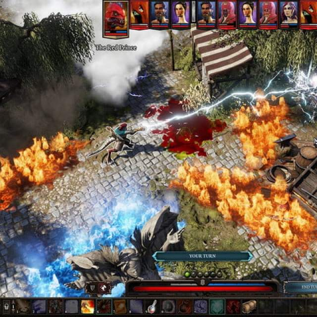 A gameplay scene from Divinity: Original Sin 2.