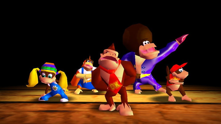 Rap intro from Donkey Kong 64.