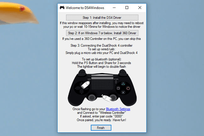 driver install | How to use ps4 controller on pc