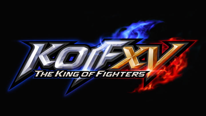 The logo for King of Fighters XV.