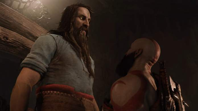 Tire and Kratos in Ragnarok, the god of war.
