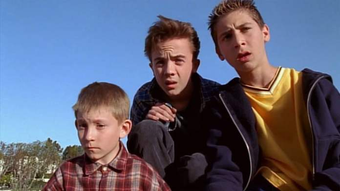 Malcolm's cast in the middle.
