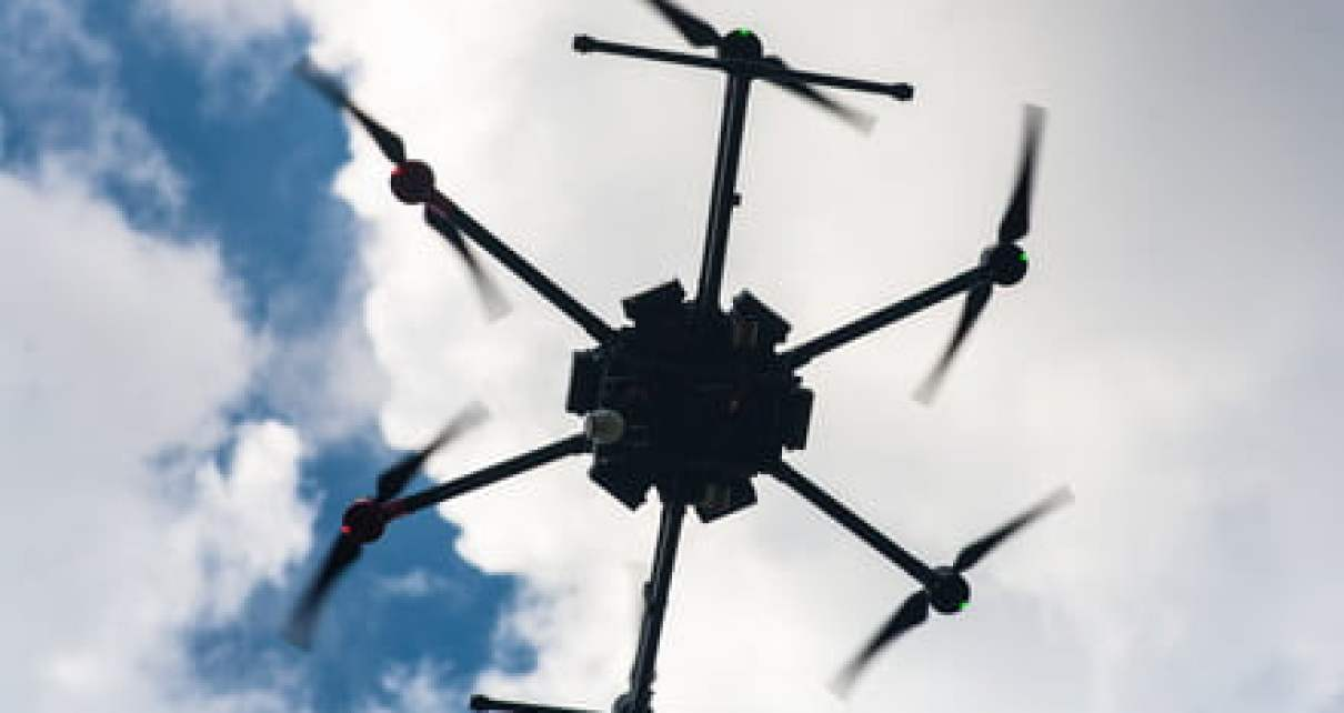 Ingenious new search and rescue drone finds people by listening for screams