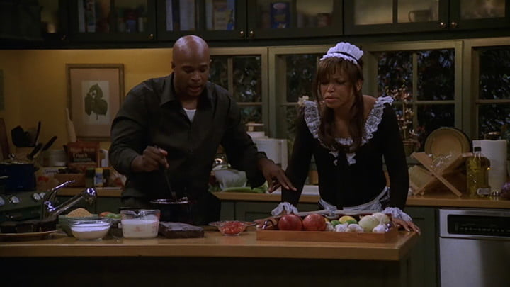 The parents from My Wife and Kids on Netflix.