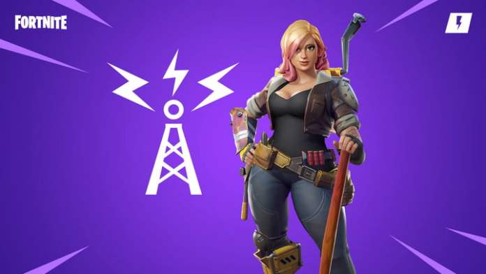 Penny from Fortnite.