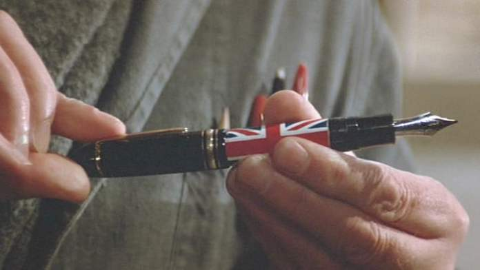 James Bond's rocket pen from Never Say Never Again.