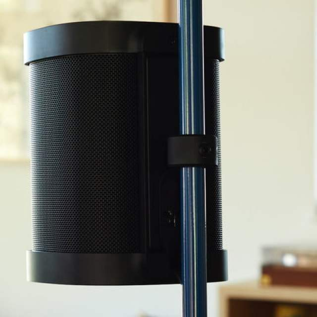 Sonos x Floyd One Stand seen from the back.