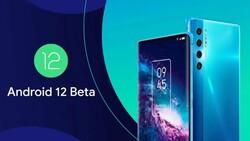 Android 12 Beta güncellemesi alan telefonlar