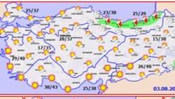 Meteoroloji duyurdu: Yangın bölgelerinde hava durumu nasıl?