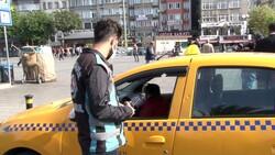 İstanbul'da taksi denetimi: 4 araç trafikten men edildi