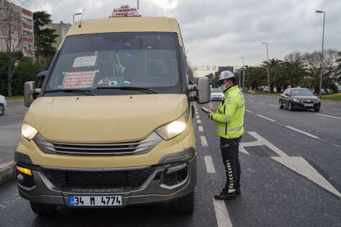 İstanbul da toplu taşıma araçlarında koronavirüs denetimi  #10