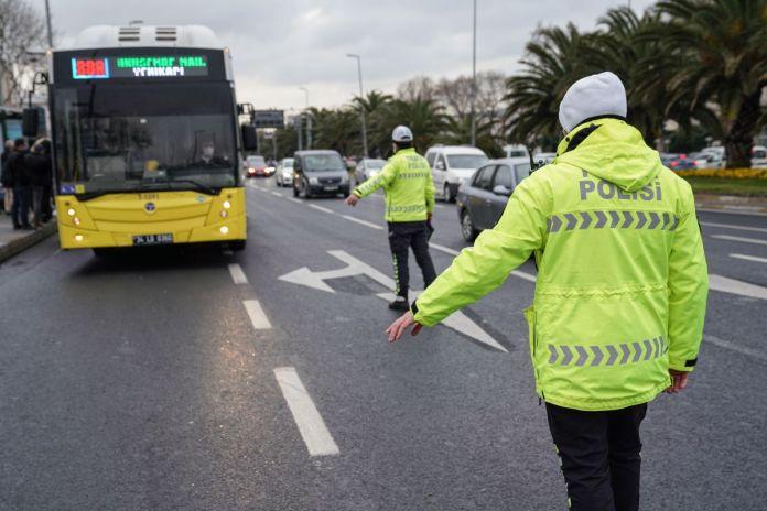 İstanbul da toplu taşıma araçlarında koronavirüs denetimi  #3