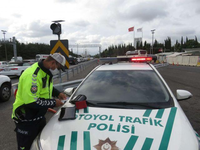 İstanbul da sürücüler havadan denetlendi  #7