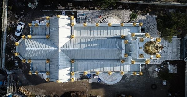 Demir Kilise açılışa hazır
