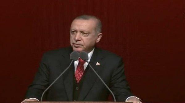 Başkan Erdoğan Atatürk'ü Anma Programında