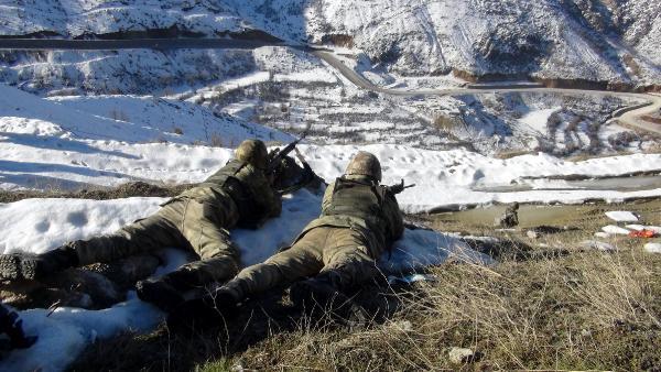Dağlıca'da teröristlere nefes yok