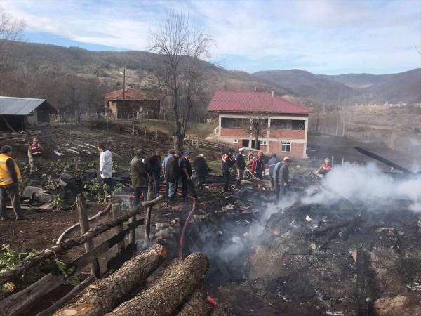 Tokat'ta yangın: 3 çocuk hayatını kaybetti