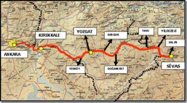 Ankara- Sivas hızlı tren projesinde çalışmalar sürüyor