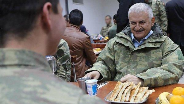 Başbakan Yıldırım'dan dağ komando okuluna ziyaret