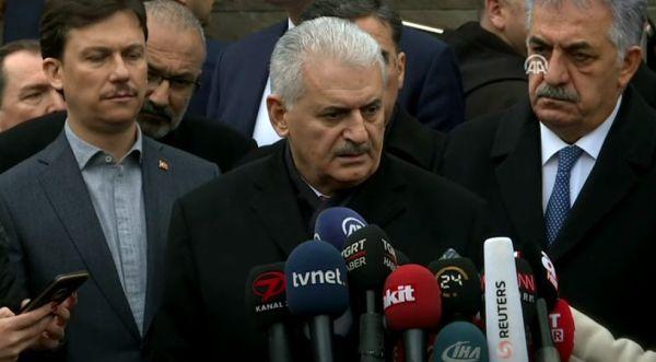 Başbakan Yıldırım'dan AYM'nin kararına ilk yorum