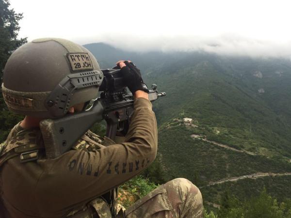 Trabzon'da PKK sığınağına operasyon