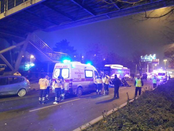 Ankara'da zincirleme kaza 2 can aldı
