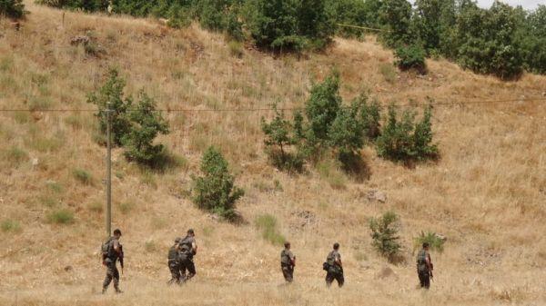 Teröristler Bitlis'te barınak arayışında